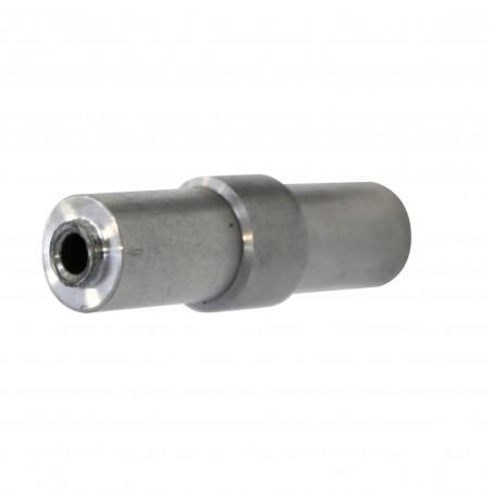 adattatore in alluminio per perno 9 mm